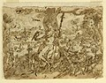 Drawing, Sketchbook page- Pearl Fishing; recto, Diana, ca. 1590 (CH 18117949).jpg