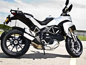 Ducati Multistrada 1200 - Image: Ducati multistrada 1200 ABS