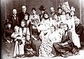 Duchess Maria Josepha in Bavaria with her big family.jpg