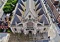 Dunkerque Belfried Blick vom Turm auf St. Éloi 3.jpg