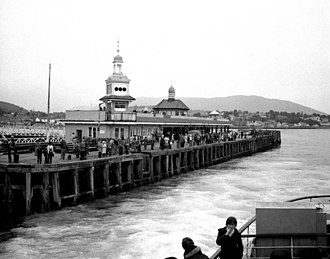 J. J. Stevenson - Dunoon Pier