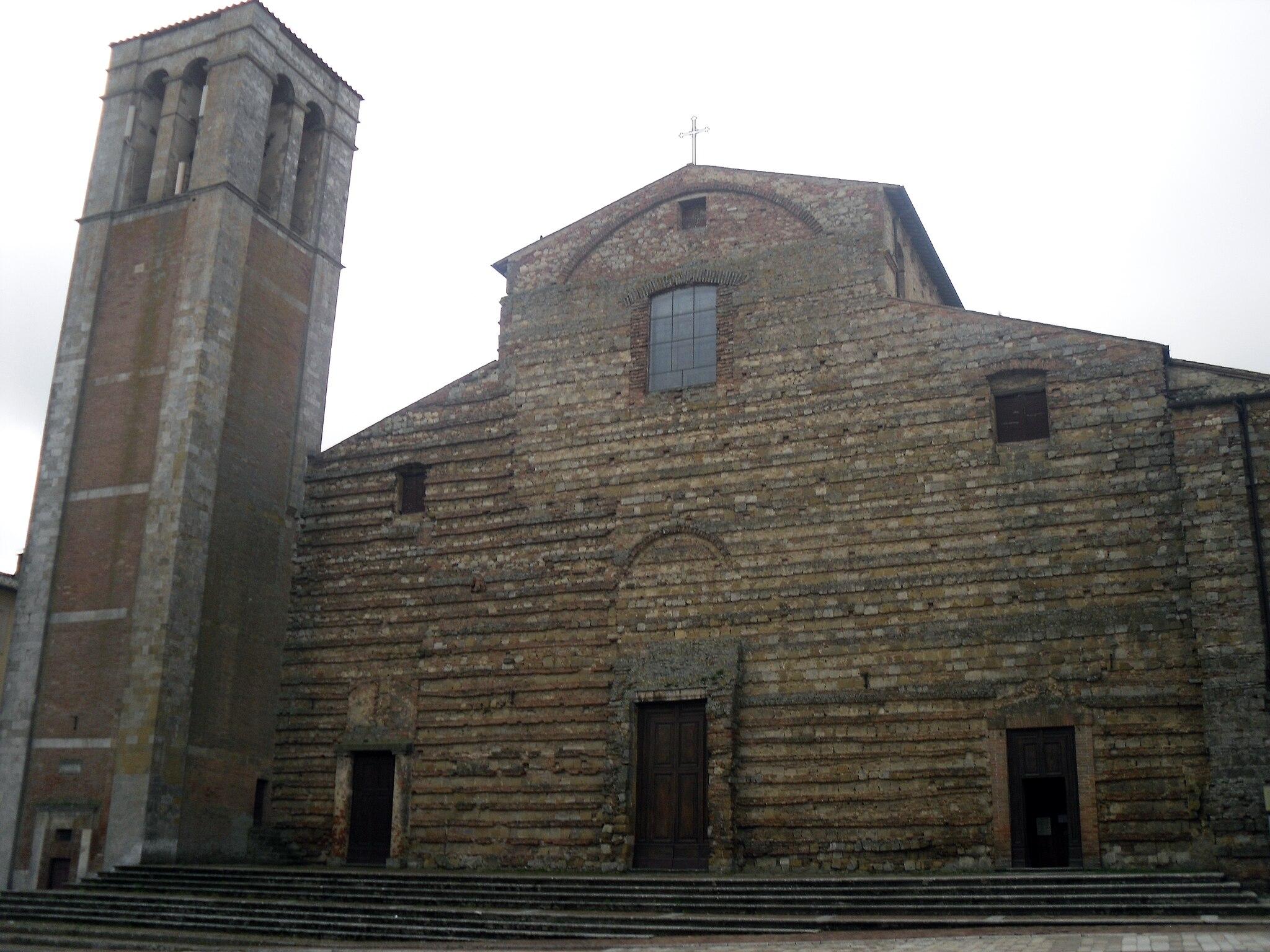Duomo of Montepulciano, facade - 1