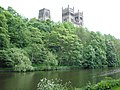 Durham Cathedral from the river bank - geograph.org.uk - 267670.jpg