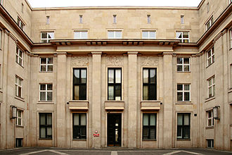 Ministry of National Education (Poland) - Inside the ministry's main courtyard