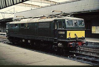 British Rail Class 76 class of 58 Bo+Bo 1300hp DC electric locomotives