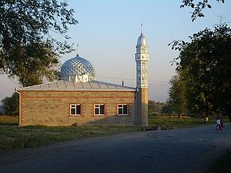 Kant, Kyrgyzstan - Image: E8079 Pervomayskoe mosque