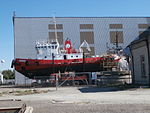 ES-HAL Balloon Tallinn and Arno at Noblessner Shipyard in Tallinn 19 August 2015.JPG