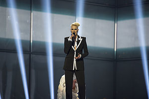 Macedonia in the Eurovision Song Contest 2014 - Tijana at the second semi-final dress rehearsal
