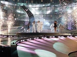 Eurovision Song Contest 2008, 1st semifinal Az...