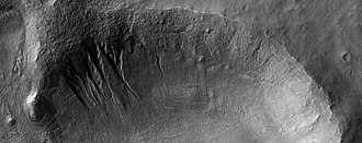 Eridania quadrangle - Image: ESP 055156 1430gullies