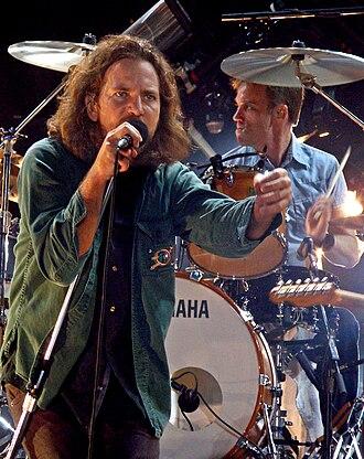 Pearl Jam 2006 World Tour - Image: E Vedder 06