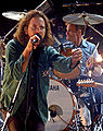 Pearl Jam in Albany, New York on May 12, 2006.