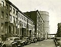 East 20th St northside towards 1st Ave 1938.jpg