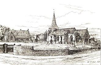 East Farleigh - Image: East Farleigh Church