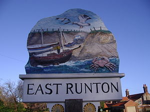 East Runton - Image: East Runton Village Sign (1)