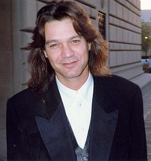 Eddie Van Halen - Van Halen at the 45th Emmy Awards, 1993.