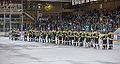 Edmonton Oilers Rookies vs UofA Golden Bears (15272246741).jpg