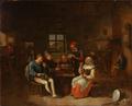 Egbert van Heemskerk - Kroscene med festende bønder.png