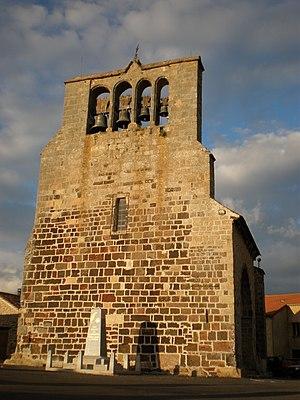 Lespéron - The church in Lespéron