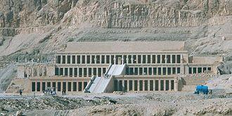 Mortuary temple - Mortuary Temple of Hatshepsut