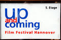 Eingang Lister Platz 1 Hannover Up and Coming Film Festival Hannover Hinweisschild.jpg