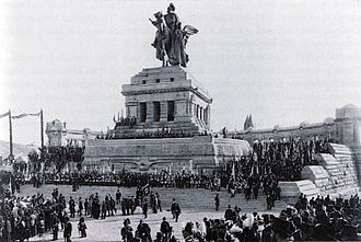 Deutsches Eck - Inauguration ceremony, 31 August 1897