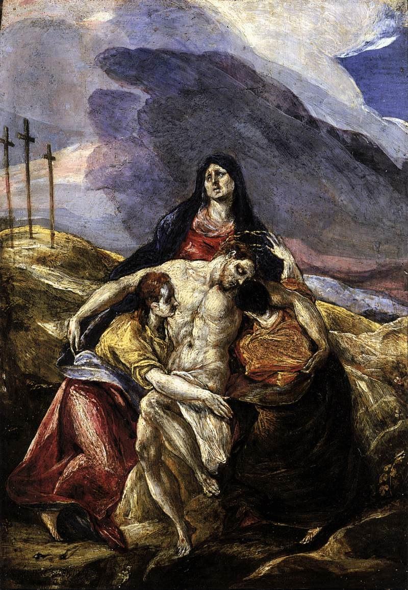 El Greco Pietà