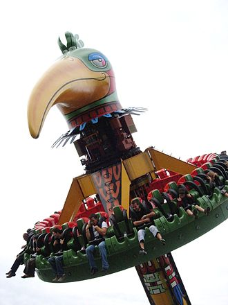 Bellewaerde - Image: El Volador Bellewaerde