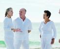 Elderly people along beach.tiff