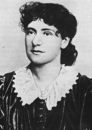 "Revolution and Counter-Revolution in Germany - Eleanor ""Tussy"" Marx Aveling (1855-1898), editor of the first edition of Revolution and Counter-Revolution in Germany. The book was wrongly attributed by her to the pen of her father."