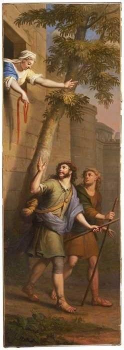 Elias van Nijmegen - Verspieders ontsnappen uit Jericho - 11102 - Museum Rotterdam