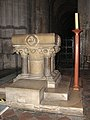 Ely Cathedral - Victorian baptismal font - geograph.org.uk - 2168579.jpg