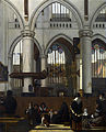 Emanuel de Witte - The Interior of the Oude Kerk, Amsterdam, during a Sermon - WGA25813.jpg