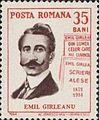 Emil Gîrleanu 1964 Romania stamp.jpg