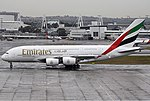 Emirate Airbus A380-800 SYD Spijkers.jpg