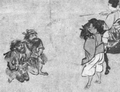Emishi from an Emakimono circa 1324.png