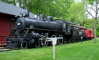 Currie, Minnesota - Image: End O Line Railroad Park