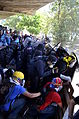 Enfrentamientos en Bello Monte, 12Abr14 (13977091290).jpg