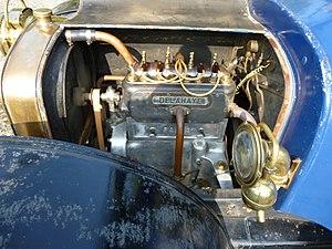 Delahaye - Image: Engine Delahaye Type 32L Limousine 1912