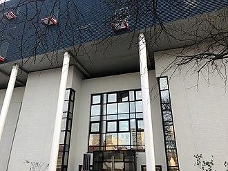 École pour l'informatique et les techniques avancées - Image: Entrée campus EPITA Le Kremlin Bicêtre