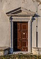 Entrance to St. George's Parish Church, Piran, Slovenia 07.jpg