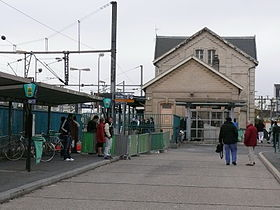Image illustrative de l'article Gare d'Épinay - Villetaneuse