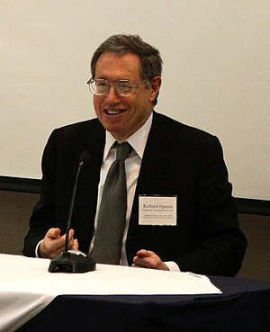 Richard Epstein - Epstein at George Mason University in 2009