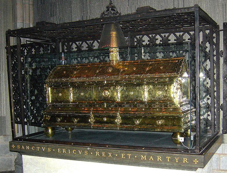 Chasse de saint Éric à la cathédrale d'Uppsala