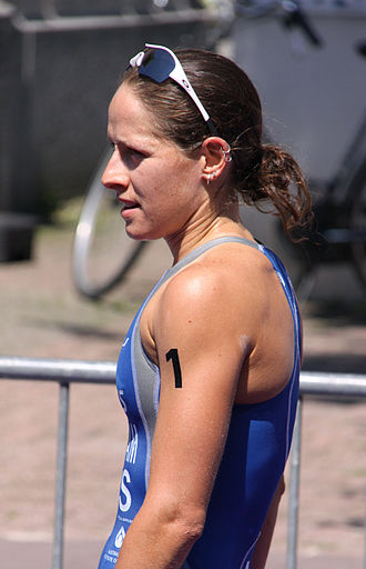 Erin Densham - Erin Densham, immediately after her race in Brasschaat, 2010.