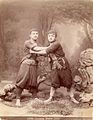 Ermakov. № 14664. Georgian wrestlers.jpg