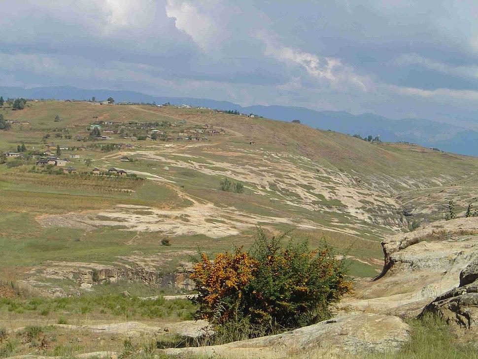 Erosion Lesotho