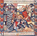 Escena de batalla libro de cántigas de Alfonso X El Sabio.jpg