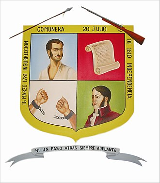 Charalá - Image: Escudo de Charalá