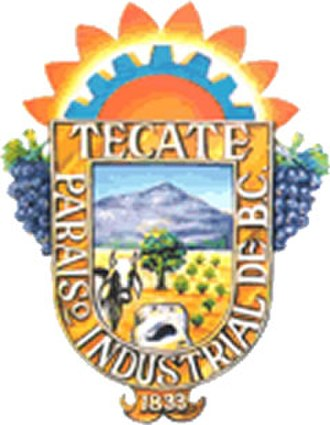 Tecate Municipality - Image: Escudo tecate
